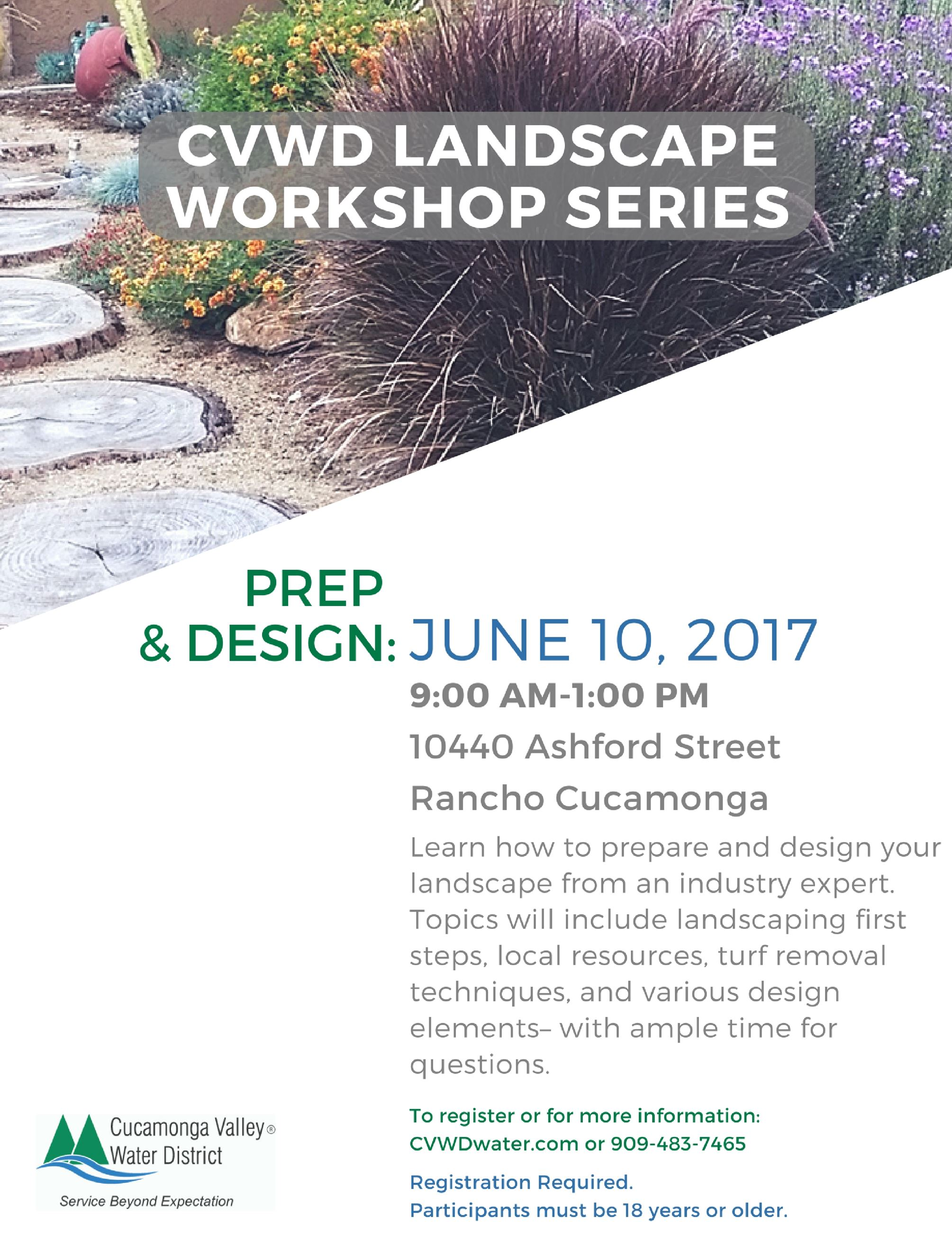 Prep and Design Flyer
