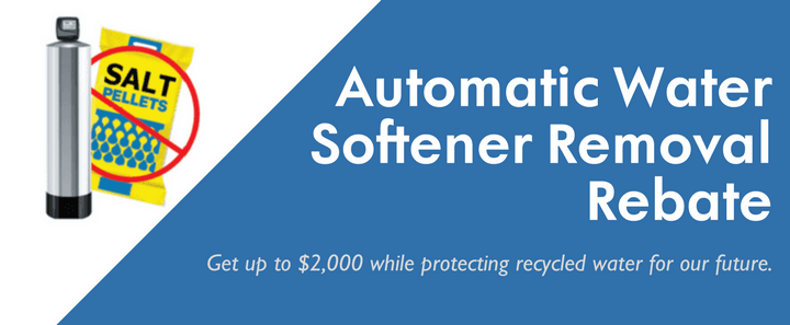 Automatic Water Softener Removal Rebate