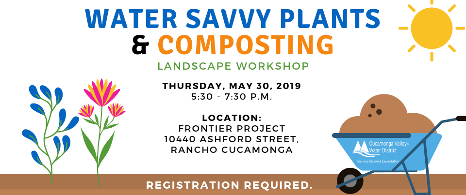 Water Savvy Plants and Composting Landscape Workshop