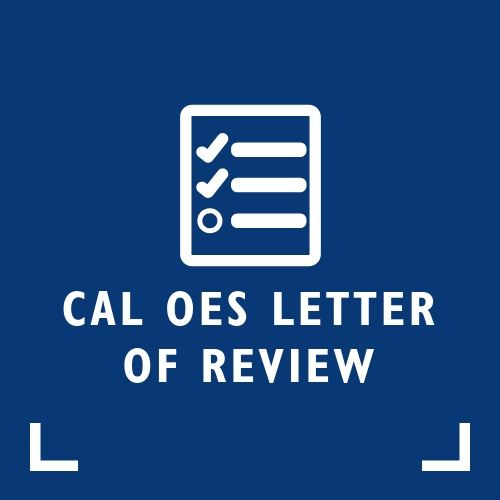 CAL OES Letter of Review