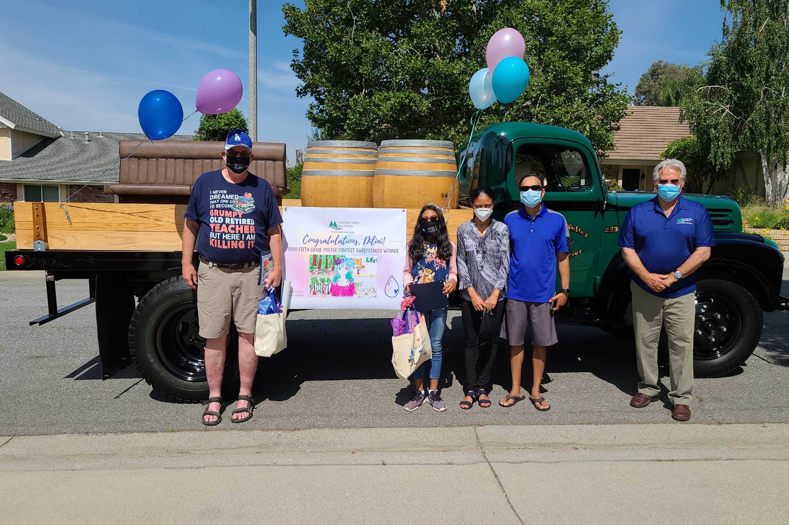 Poster Contest Sweepstakes Winner Celebration