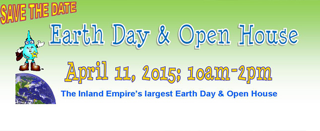 Earth Day Event front page website
